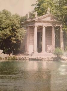 giardino lago villa borgese