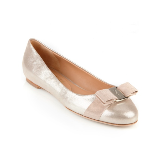 ferragamo.com Icon Varina ballerina shoes